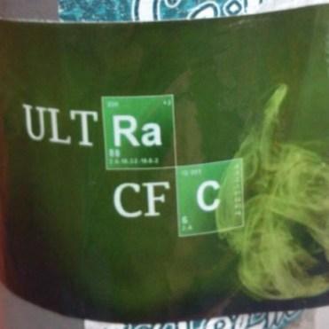 Ultra CFC Breaking Bad sticker