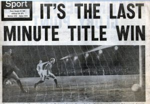 1969 Last minute title win
