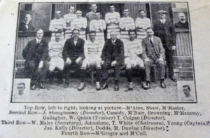 Celtic 1916-17