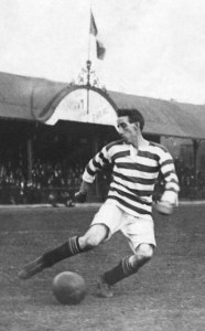 Patsy Gallacher turning on the style