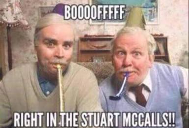 Booft in the Stewart McCalls