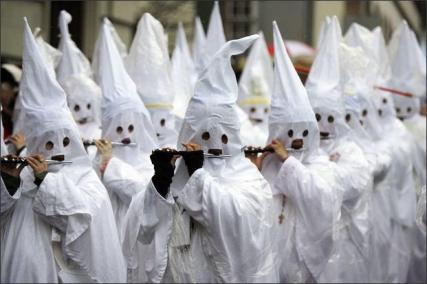 KKK March to George Square