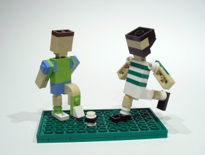 Lego Celtic Joe Ledley