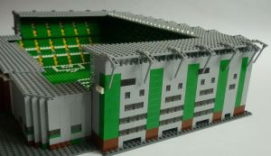 Lego Celtic Park behind LL stand