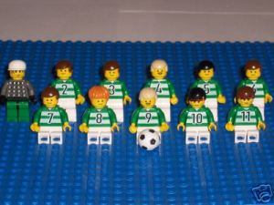 Lego Celtic players