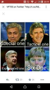 Special One to Six One