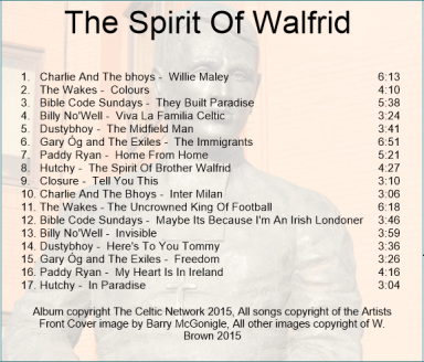 Spirit of Walfrid back cover