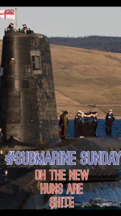 Submarine Lest we forget