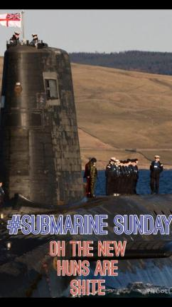 Submarine Lest we forget