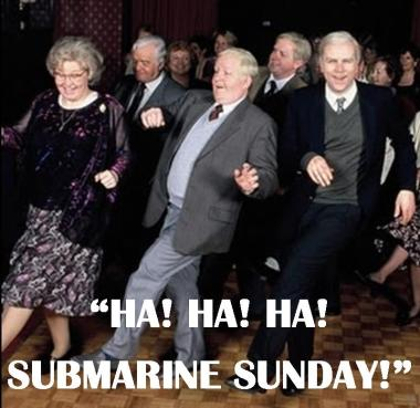 Submarine Sunday slosh!