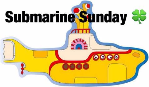 Submarine Sunday yellow sub