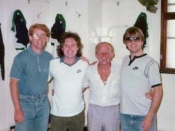 Frankie Miller and Jinky and TB