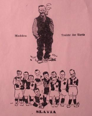 Johnny Madden coach Slavia