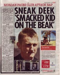 Sneak Deek up in court