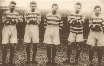 Celtic forward line 1928 cup final