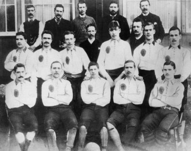 Celtic team 1888 large Willie Maley