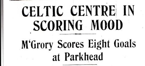 McGrory in scoring mood headline