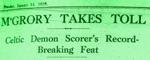 McGrory takes toll DEMON SCORER