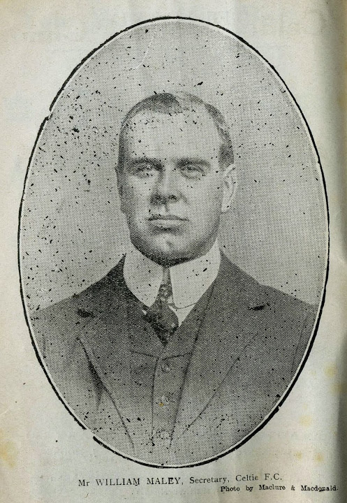 Willie Maley formal portrait