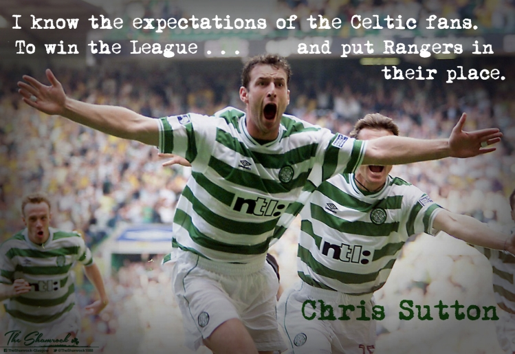 CHRIS SUTTON  In their place