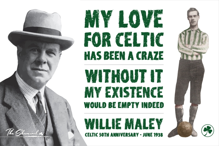 Willie Maley banner