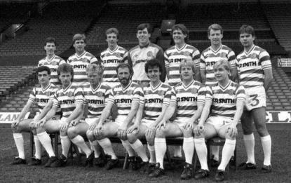 Celtic first team 1984- 1985