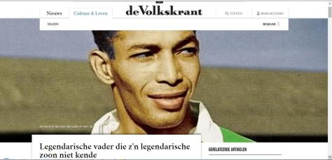 Gil Dutch newspaper headline
