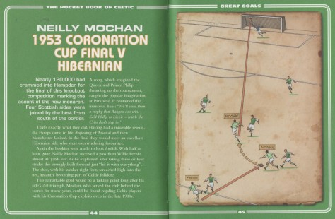 Goal Diagram  Neilly Mochan 1953 Coronation Cup Final