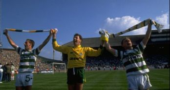 Packie 1989 cup final celebration