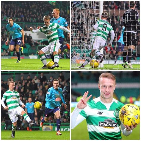 Leigh Griffiths hat-trick v Hamilton Accies 19.1.16