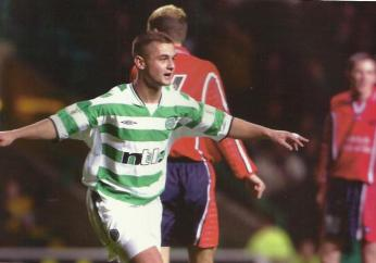 Shaun Maloney  2001  4 goals v Stirling Albion