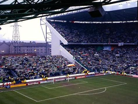 Celtic Park  The Temporary Stand
