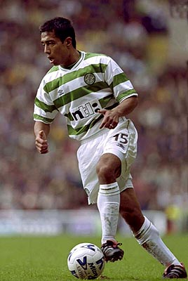 Bobby Petta on the ball