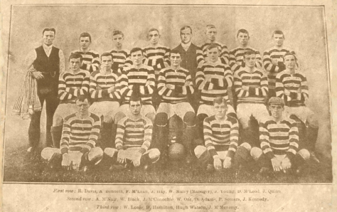 Celtic 1904-5  straight and revised