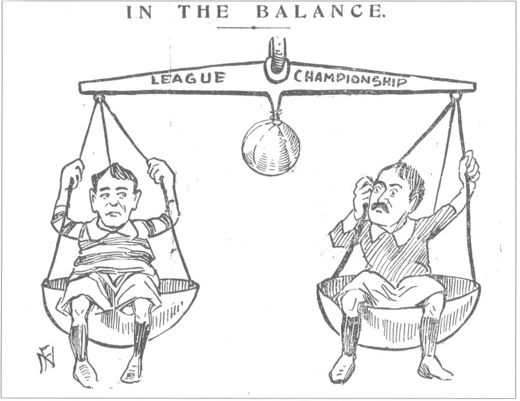 In the Balance cartoon cleaned