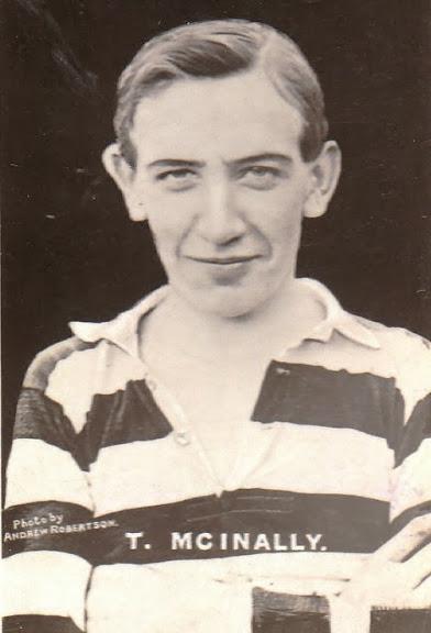 Tommy McInally portrait