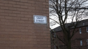 savoy-street-sign