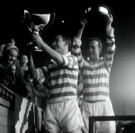 bertie-peach-1957-hosting-league-cup