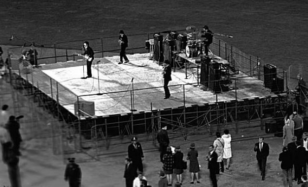 Beatles at Candlestick Park