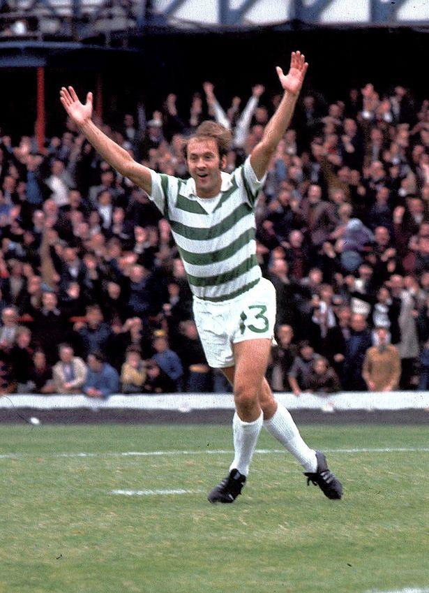 Harry Hood celebrates arms aloft