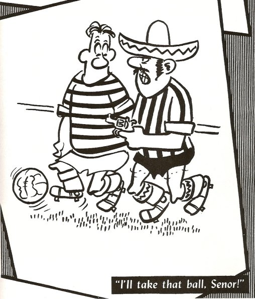 Celtic Racing Club Cartoon