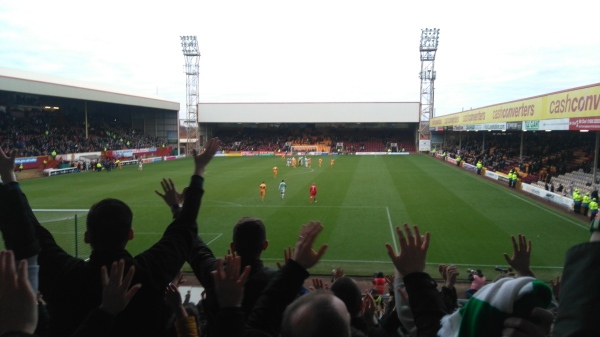 Motherwell away Say hello 10 in a row