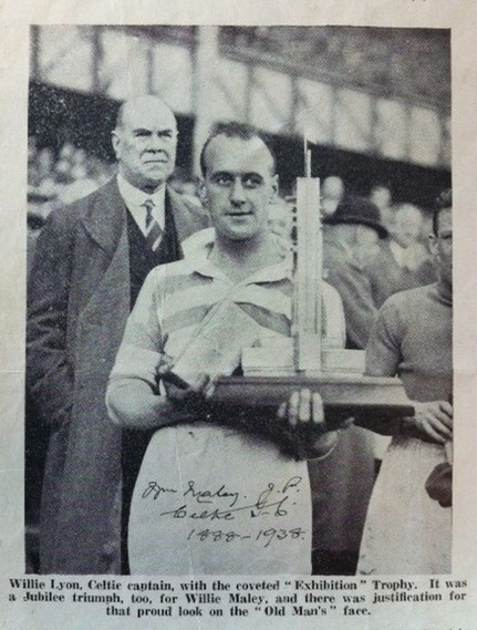 Willie Maley, Willie Lyons and the Empire Exhibition trophy