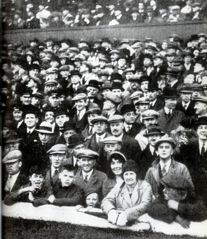 A section of the crowd in 1931 final