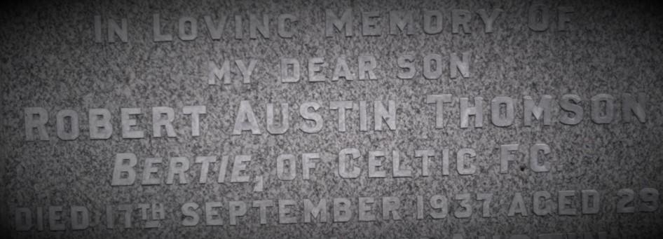 Bertie Thomson headstone (2)