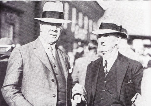 John Sailor Hunter and Willie Maley Cup Final Managers