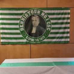 Dennistoun No.1 CSC Brother Walfrid banner