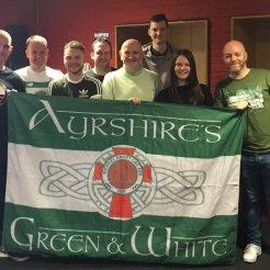 Michael Davitt CSC Ayrshires Green and White