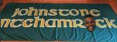 Johnstone Ntchamrock banner with facej