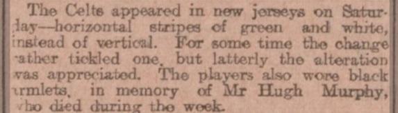 Hugh Murphy mention in Scottish Referee Third Lanark v Celtic first Hoops 29.8.03